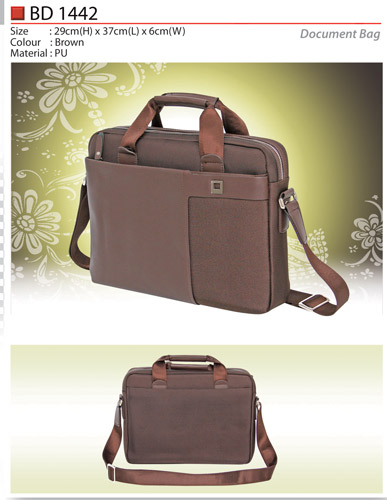 PU Document Bag (BD1442)