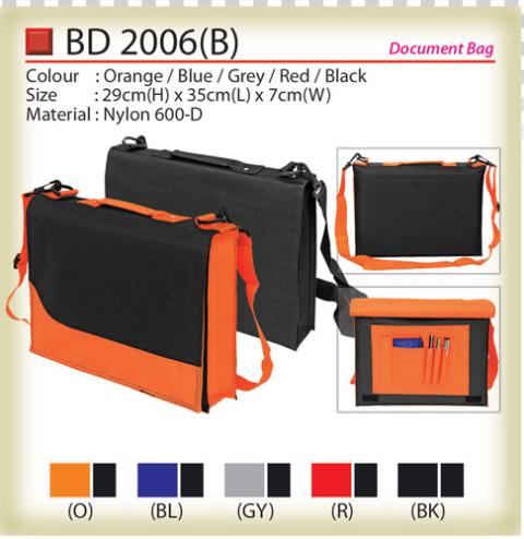 Classic Document Bag (BD2006B)