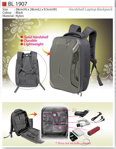 Hardshell Laptop Backpack (BL1907)