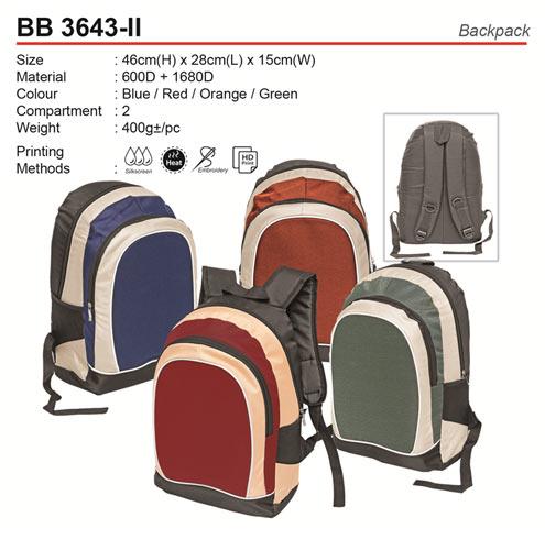 Classic Backpack (BB3643-II)