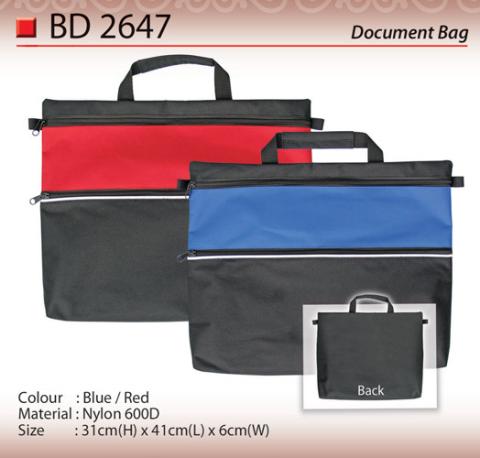 Budget Document bag (BD2647)