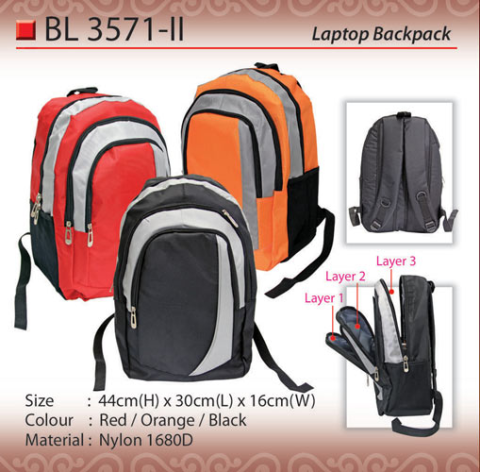 Budget Laptop Backpack (BL3571-II)