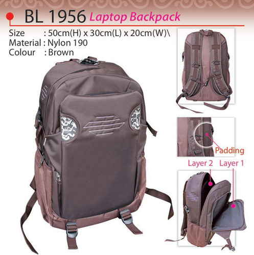 Pattern Laptop Backpack BL1956