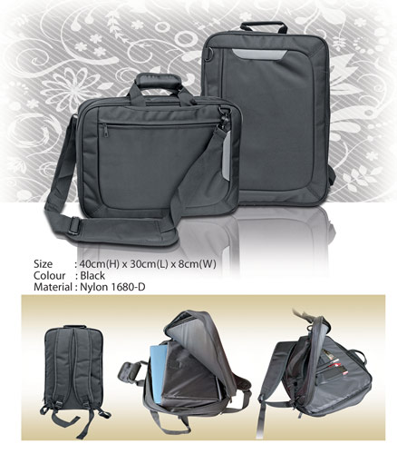 Convertible Laptop Backpack (BL1671)