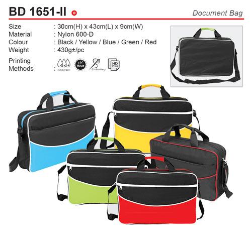 Colourful Document Bag (BD1651-II)