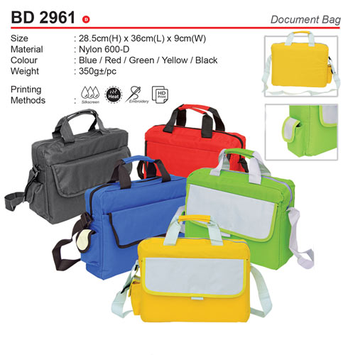 Colourful Document Bag (BD2961)