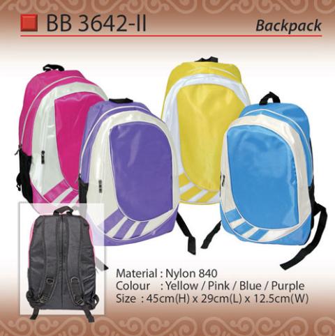 Fashion Backpack (BB3642-II)