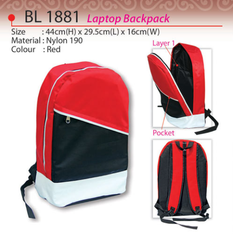 Trendy Laptop Backpack (BL1881)