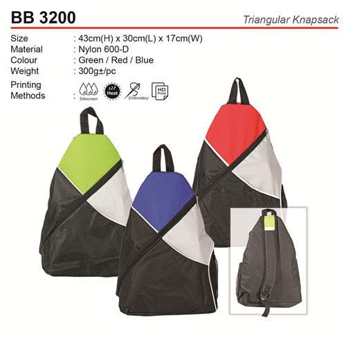 Sporty Triangular Knapsack (BB3200)