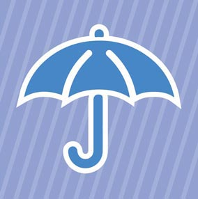 umbrella and sunshade