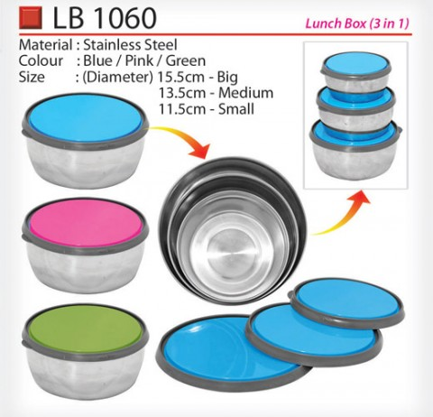3 in 1 Lunch Box (LB1060)