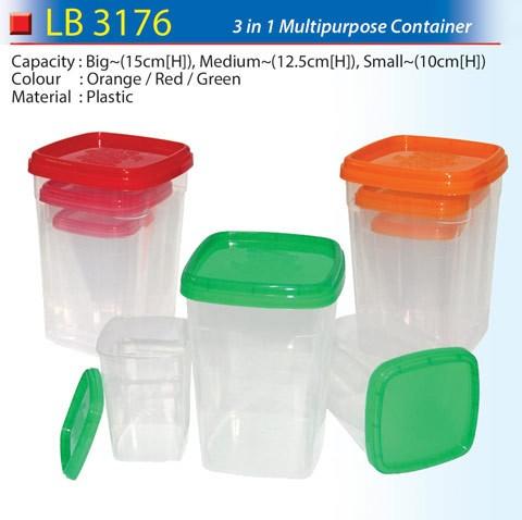 3 in 1 Multipurpose Container (LB3176)