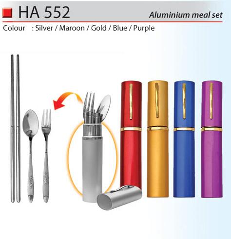 Aluminium Cutlery Set (HA552)