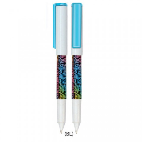Budaya Series Plastic Pen (BY3717-C)