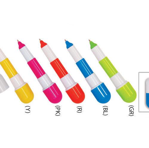 Capsule Plastic Pen (Y5556)