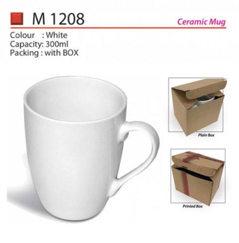 Budget ceramic mug M1208