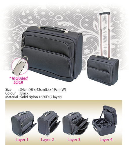 Classic Trolley Luggage Bag (BL1903)