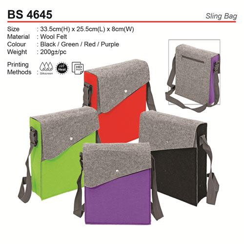 Wool Felt Sling Bag (BS4645)