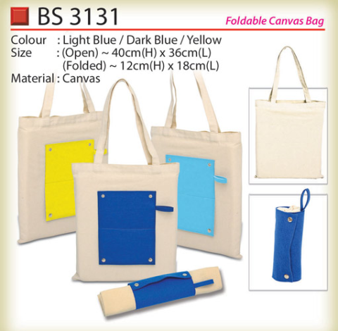 Foldable Canvas Bag (BS3131)