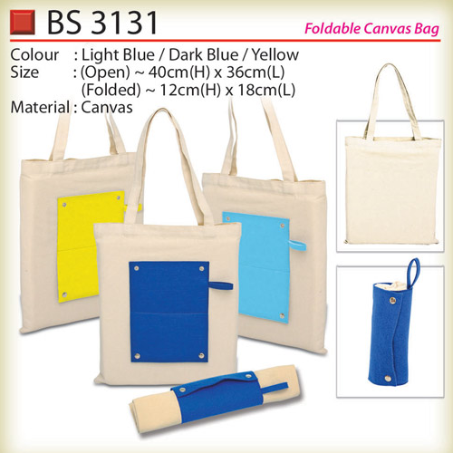 Foldable Canvas Bag (BS3131)