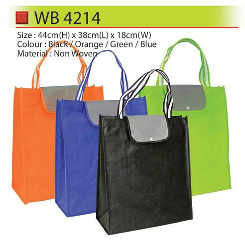 Non Woven Bag with button (WB4214)