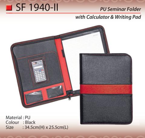 PU Seminar Folder (SF1940-II)