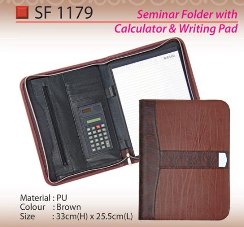 PU Seminar Folder (SF1179)