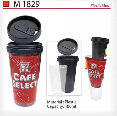 Plastic Mug (M1829)