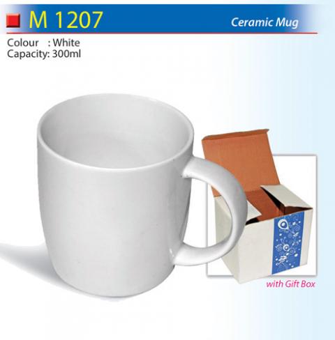 Round Ceramic Mug (M1207)
