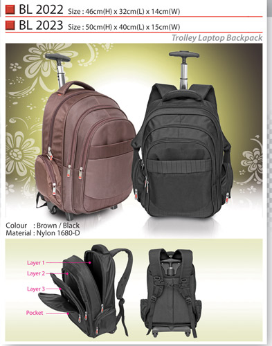 Trolley Laptop Backpack (BL2022)