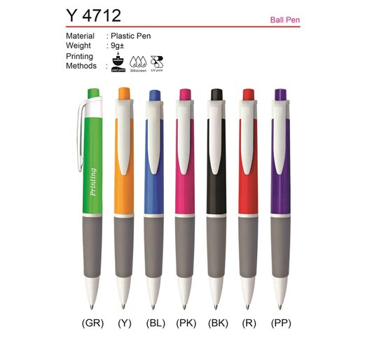 budget plastic pen Y4712