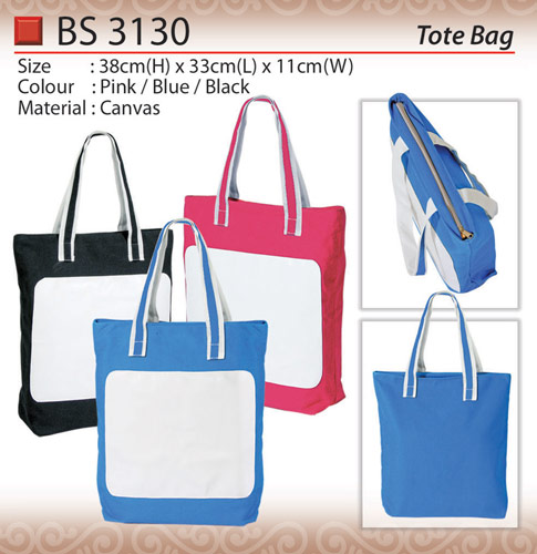 Canvas Tote Bag (BS3130)