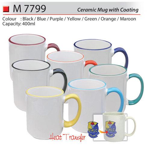Ceramic Mug with Coating (M7799)