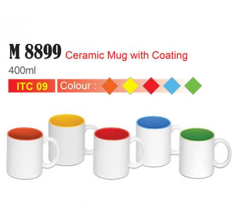 Ceramic Mug with inner color (M8899)