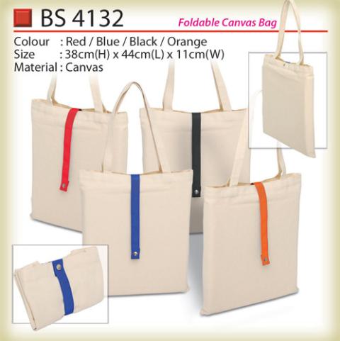 Foldable Canvas Bag (BS4132)