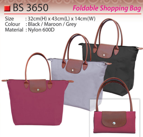 Foldable shopping bag (BS3650)