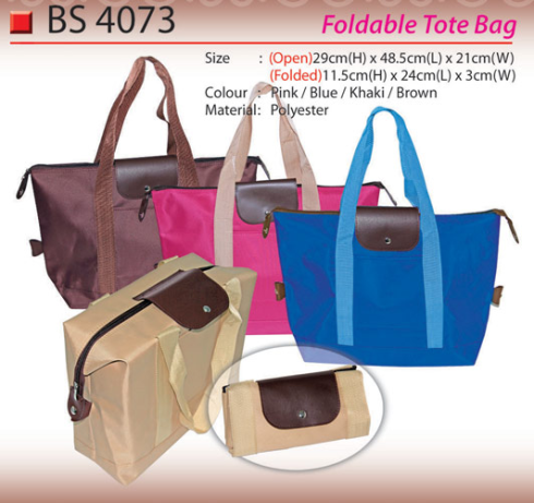 Foldable Tote Bag (BS4073)