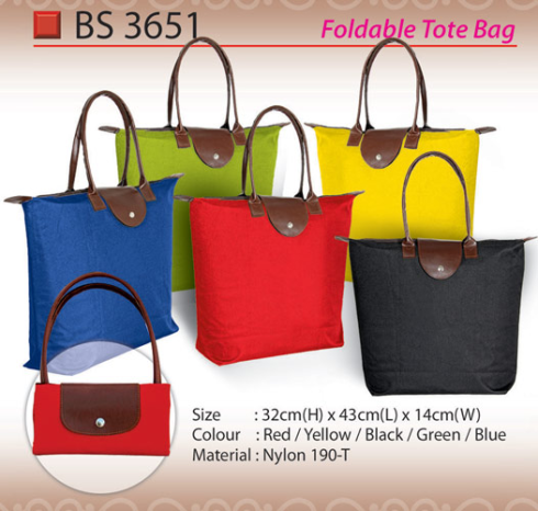 Foldable Tote Bag (BS3651)