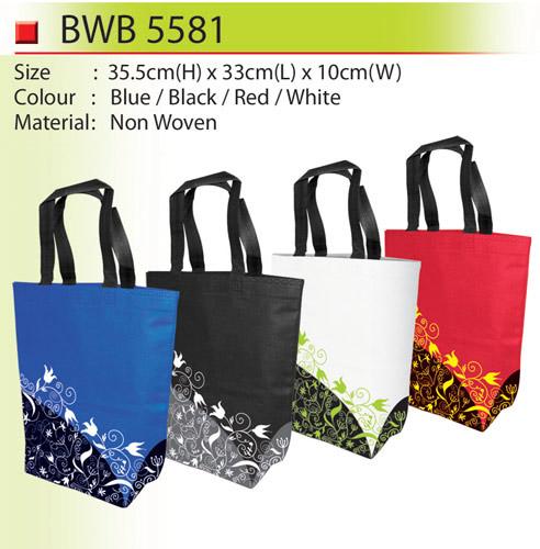Pattern Non Woven Bag (BWB5581)