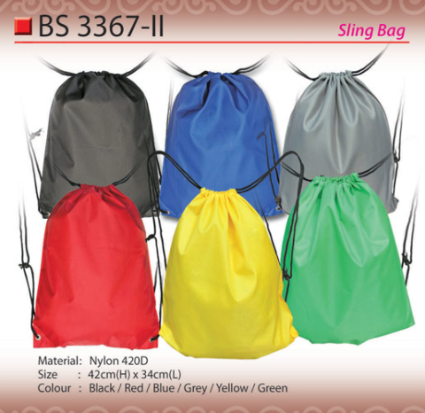 Budget Nylon Sling Bag (BS3367-II)