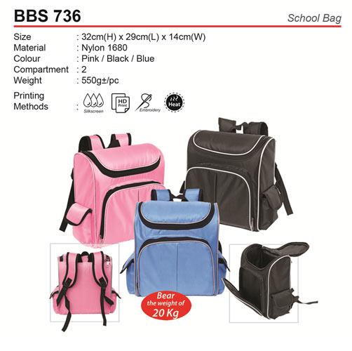 Quality School Bag (BBS736)