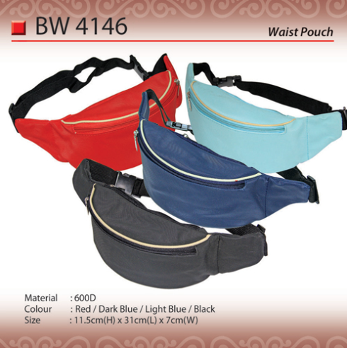 Trendy Waist Pouch Bag (BW4146)
