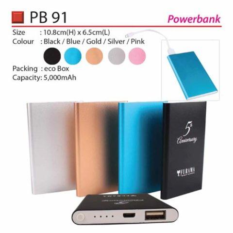 5000mah power bank PB91