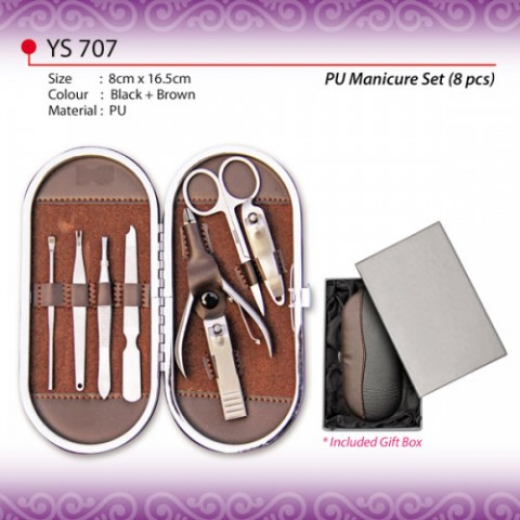 8pcs PU Manicure Set (YS707)