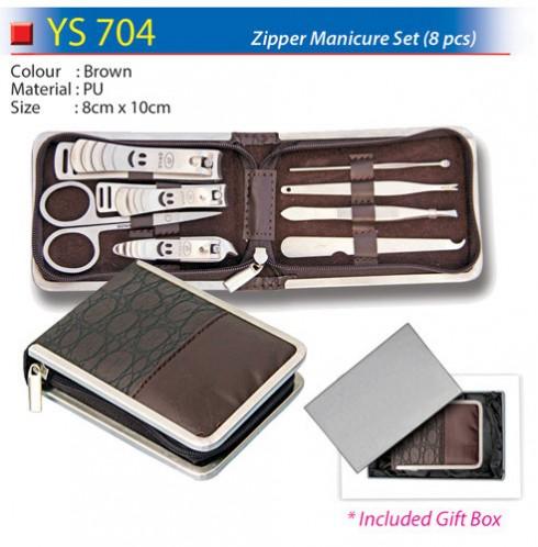 8pcs Zipper Manicure Set (YS704)