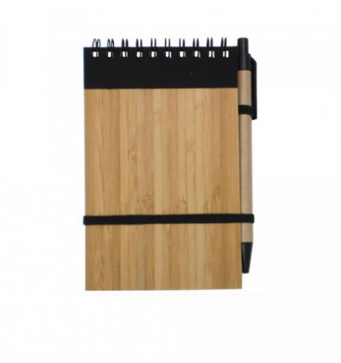 Bamboo Notepad with Pen (U10214)