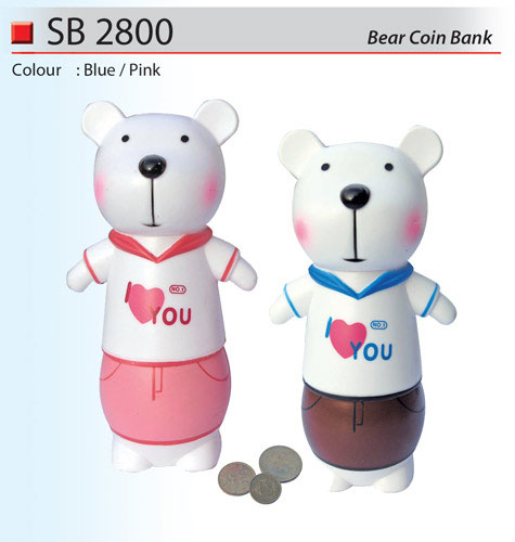 Bear Coin Box (SB2800)