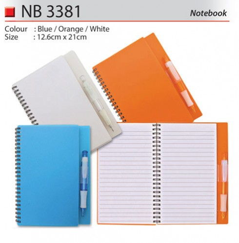 Big Notebook with Pen (NB3381)