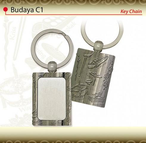 Budaya Malaysia Metal Keychain (C1)