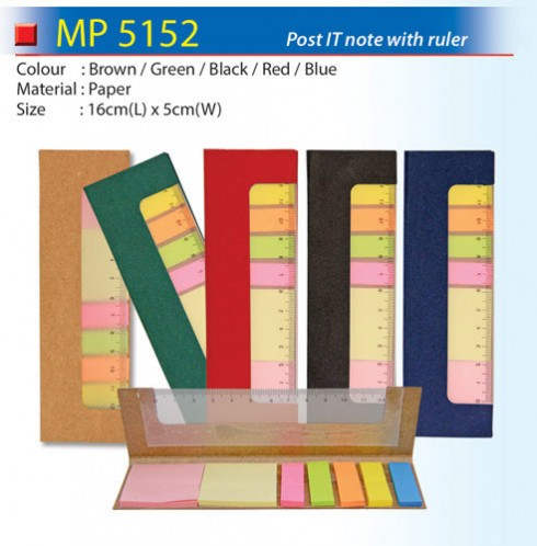 Eco Post IT Note with ruler (MP5152)